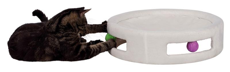【ドイツTRIXIE】新発売!猫用ベッド おもちゃ付きハンモックベッド ハンモックラウンド