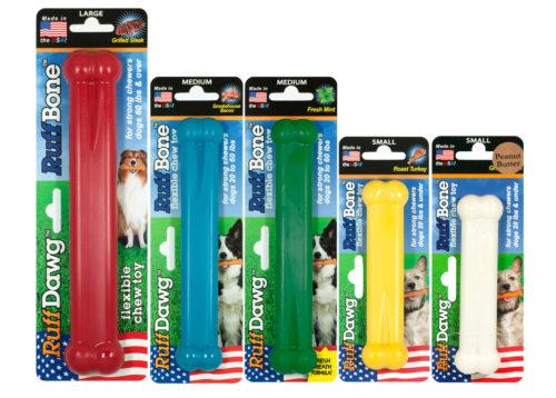 【アメリカRuffdawg】アメリカRuffdawg USA製のおもちゃ ラフボーンL ローストターキー味