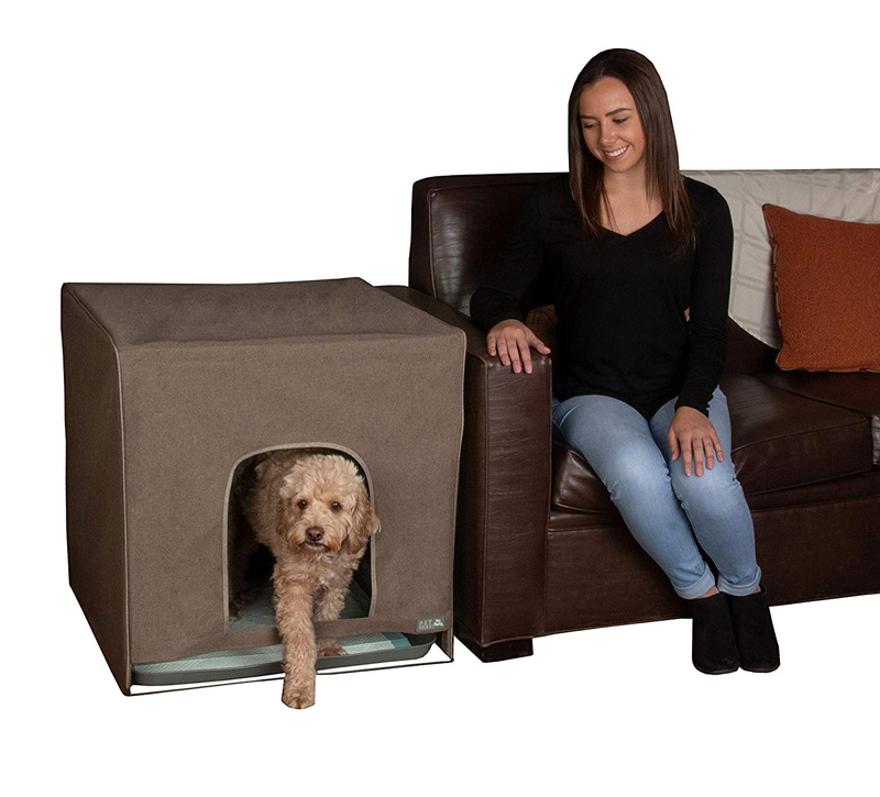 【PET GEAR】犬用トイレ ペットギアPET GEAR トイレトレーニングハウス プロパウティーL エスプレッソ