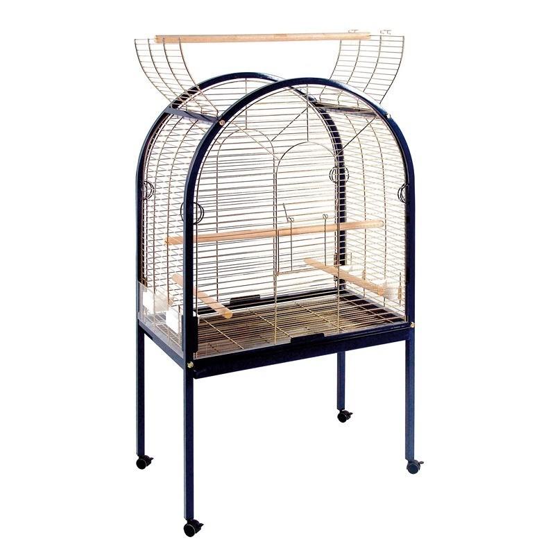 【スペインCOPELE】鳥かご スペインCOPELE バードケージ ビッグカーブパロットケージ ネイビー