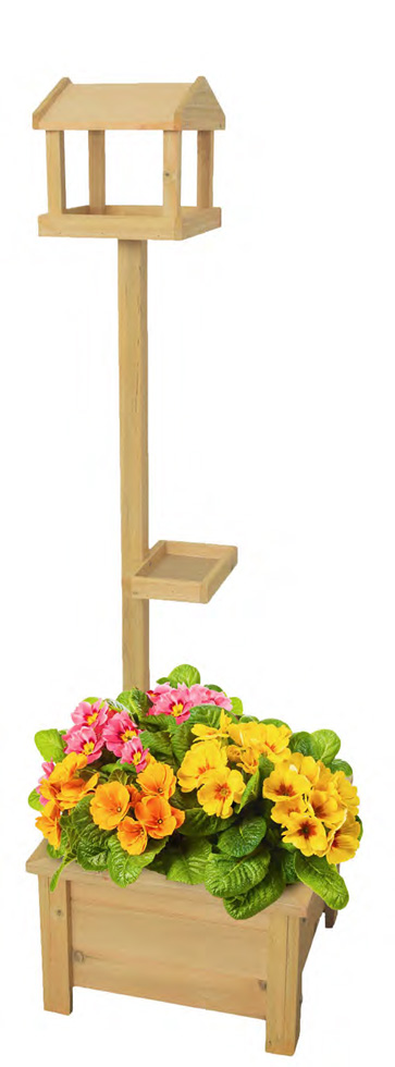 ※新発売!【ベルギーFLAMINGOPET】野鳥の餌台 ベルギーFLAMINGOPET バードテーブルプランター フローリア