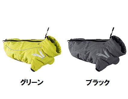 寒さと風の強い天候のときのアウトドア用ジャケット!フルッタ【フルッタフロストジャケット】 小型犬用  サイズ25 ブラック】