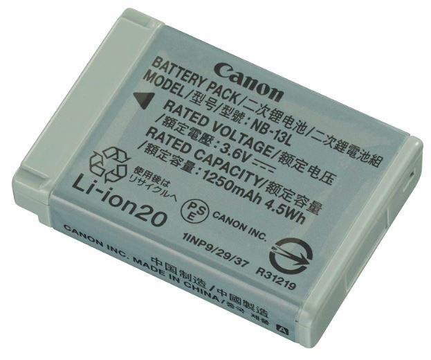 Canon キヤノン純正 NB-13L バッテリーパック PowerShot 年末年始大決算 Powershot 対応 CB-2LH 激安特価品 CB-2LH対応充電池