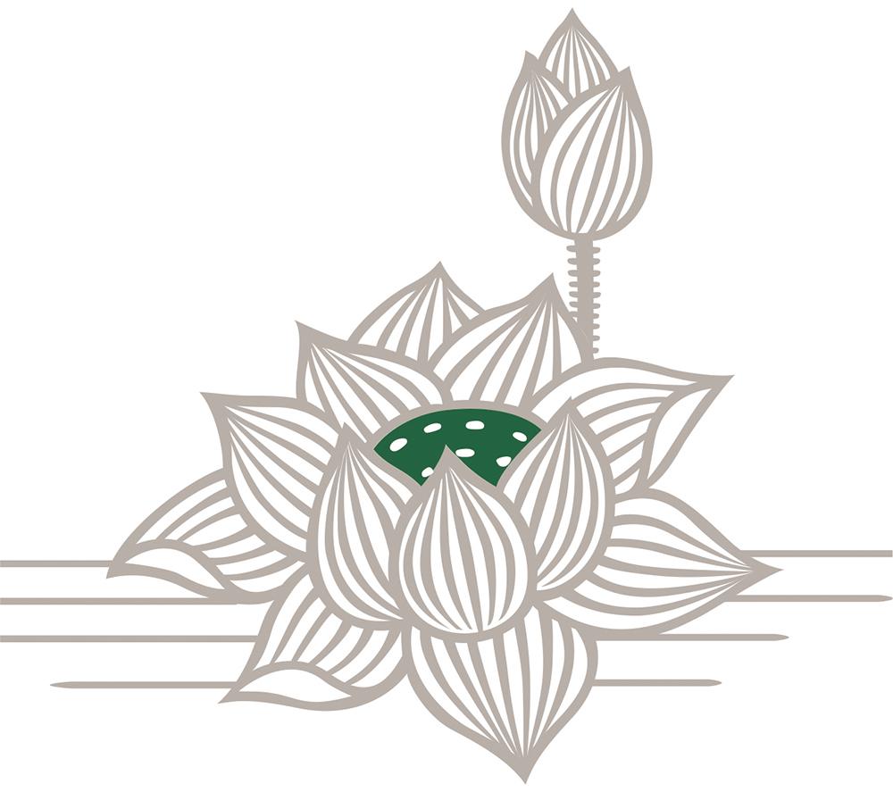 매 인지 제품의 종이은 연꽃 (B5 판) 부처님 관 동 무늬 [번성 공 방]