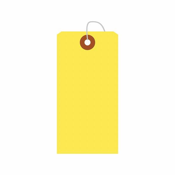 印 識別 目玉 針金 ワイヤー 資材 めじるし マーク 仕分け ペーパー タグ ラベル 無地 紙タグ 値札 値札タグ プライス プライスタグ タカ印 業務用 中 ギフト イエロー ササガワ 工場 カラー荷札 紙 荷物 特価キャンペーン カラー 梱包 25-124 プライスカード 梱包材 黄色 黄 業務