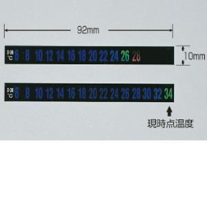 【最大1000円OFFクーポン発行中】日本緑十字社 デジタルサーモテープ D-38 270103