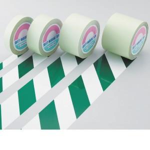 【最大1000円OFFクーポン発行中】日本緑十字社 ガードテープ GT-251WG 白/緑 148024