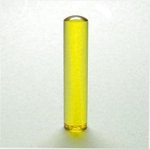 水晶印鑑 黄水晶(シトリン)16.5×60ミリ[宅配便]
