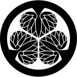 家紋スタンプ【家紋-KAMON-】『徳川葵』(150×150ミリ以内)[宅配便]