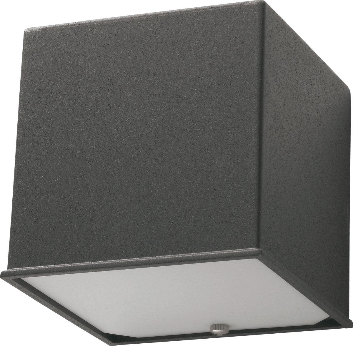 LEDライト【Cube(キューブ)】ダークグレー[宅配便]