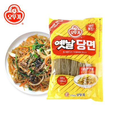 ソウル市場 韓国食品 韓国食材 韓国料理 韓国春雨 タンミョン チャプチェの麺 【オットギ】イェンナル春雨 500g