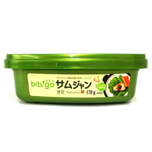 ソウル市場 韓国食品 韓国食材 韓国料理 韓国調味料 bibigo お金を節約 170g サムジャン ビビゴ CJ 正規逆輸入品