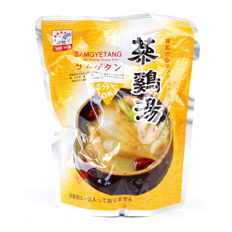 韓国料理 サムゲタン 韓国食品 韓国スープ レトルト参鶏湯 インスタント食品 参鶏湯  韓国料理 ファイン参鶏湯 800g
