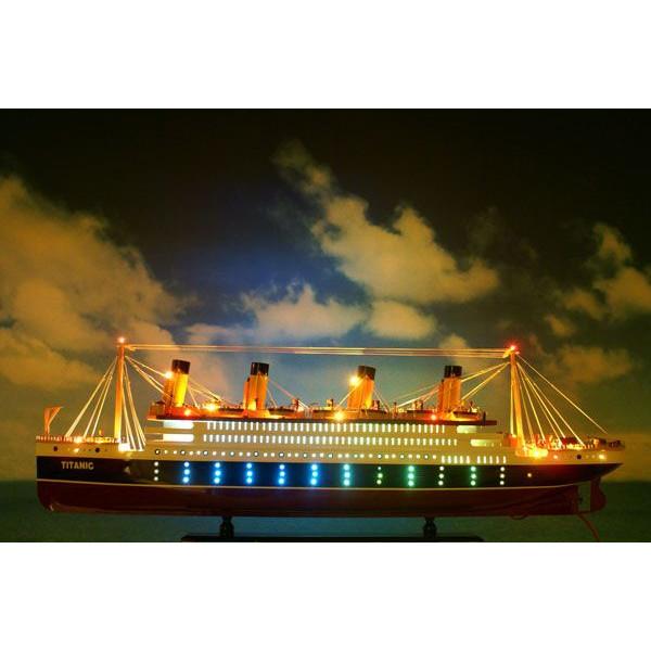 帆船模型 タイタニック L (完成品)