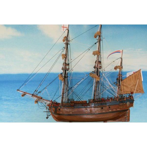 帆船模型 エンデヴァー L (完成品)