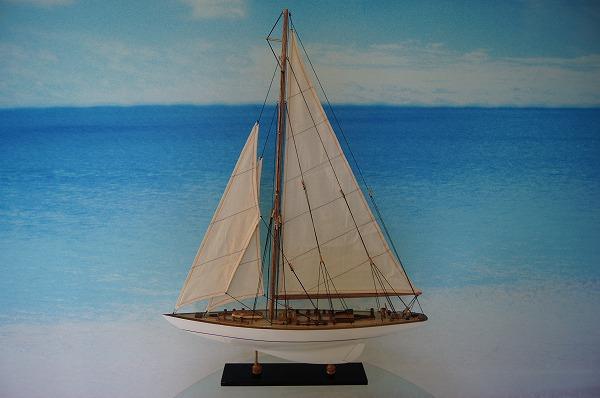 ヨット エンデヴァー Good Quality 白/白 (L) 帆船模型(完成品)