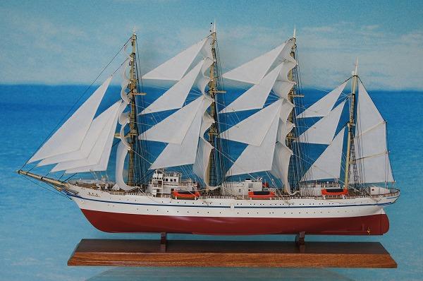 帆船模型 日本丸 M (完成品)