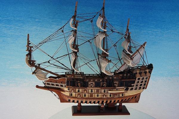 帆船模型 ソヴリンS (完成品)