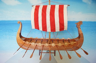 蔵 帆船模型 バイキング 完成品 お得なキャンペーンを実施中