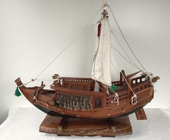 帆船模型 北前船 LL (完成品)