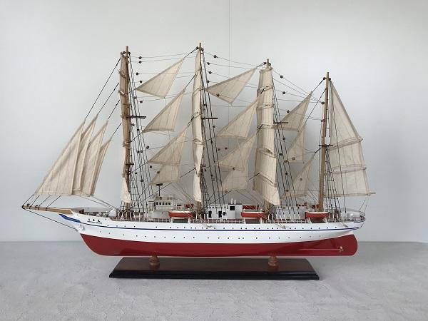 帆船模型 新日本丸 L (完成品)