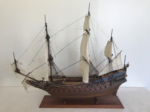 帆船模型 ヴァーサ L (完成品)