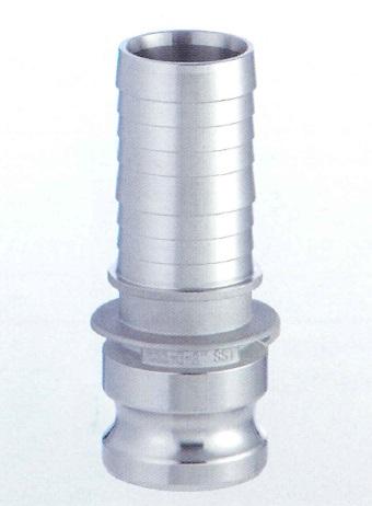 【トヨックス】 カムロックアダプター ホースシャンク ステンレススチール SUS 1 633-E TOYOX 安心 簡単 短納期 633-E-1-SUS