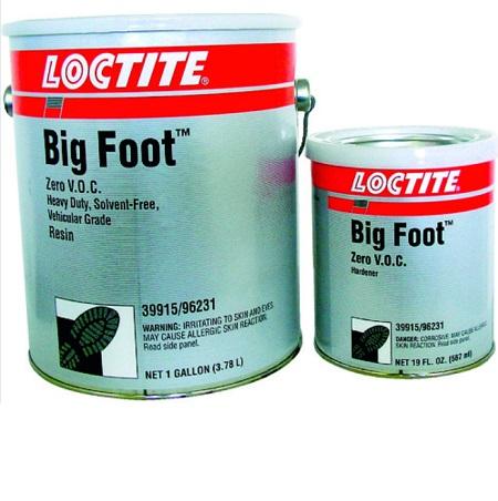 ロックタイト ビッグフット ZV 緑 3.3LT BF-ZV-GRE PC6315 滑り止めコート剤 低臭気 安全