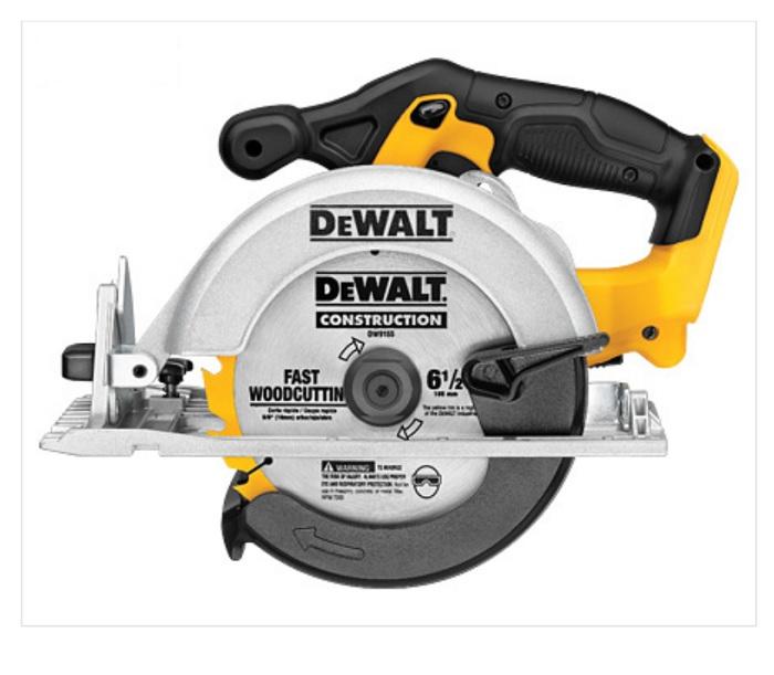 デウォルト (DEWALT) 18V 165mm コードレス丸ノコ DCS391N【本体み】高出力460モーター 0-50度の角度調整