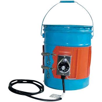 ヤガミ ペール缶用バンドヒーター YGSN-20-2 単相200V 【送料込】 PSE対応 PSE適合製品 (電気用品安全法) 加熱 保温 ペール缶用 容器用電気ヒーター 塗料 ペンキ 液体 溶かす やわらか