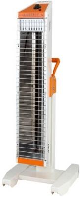 スイデン 遠赤外線ヒーター ヒートスポット SEH-10A-1【単相100V】シングルタイプ 業務用暖房機縦横ワンタッチ切替 各種安全装置内蔵 キャスター別売 電源コード付(2m 2Pプラグ付) 消費電力1000W