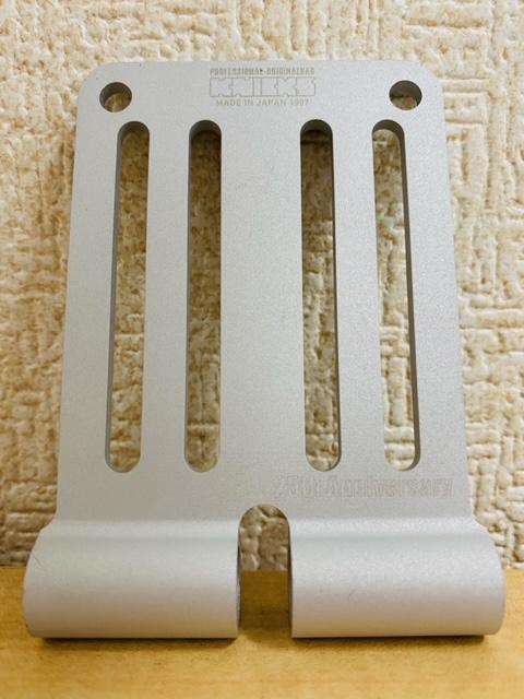 限定品 ALU-15-S マットシルバー アルミ削り出しベルトループ 25周年限定品 在庫あり ニックス KNICKS 25th 上品 Anniversary 25周年記念 全国生産数各1000枚限定 腰袋 在庫限りで終了品となります 金具 2020秋冬新作 工具袋