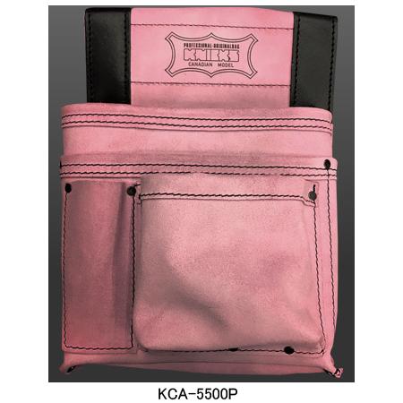 スエード 在来工法用 スタンダード 釘袋 直営ストア ニックス KNICKS 工具袋 道具袋 在来工法用スタンダード釘袋 ついに入荷 KCA-5500P ピンク 腰袋