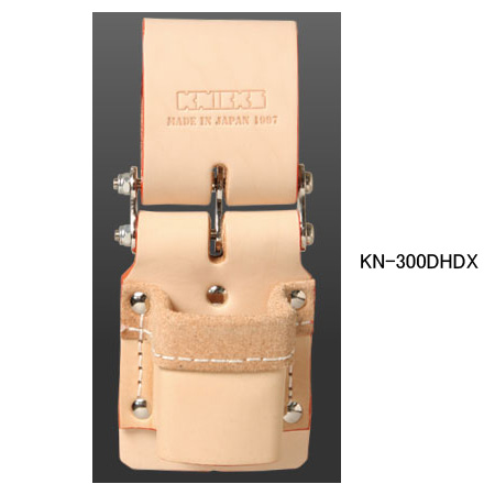 チェーン式 ハンマーホルダー 補強タイプ 決算SALE 激安通販ショッピング 在庫あり即納可 ニックス 工具袋 高品質 KN-300DHDX 腰袋 KNICKS 道具袋