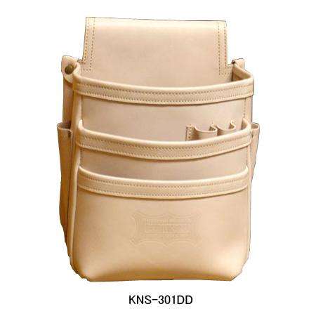ニックス(KNICKS) KNS-301DD 総ヌメ革使用3段腰袋 腰袋 工具袋 道具袋