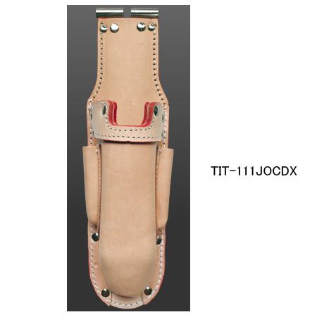 ニックス(KNICKS) TIT-111JOCDX チタン補強プレート入 折畳式充電ドライバーホルダー 腰袋 工具袋 道具袋