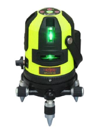 サンピース グリーンレーザー墨出器 SPLA-213G 新製品 受光器 三脚付 マイト工業MLA-213G同等品 グリーンライン 緑