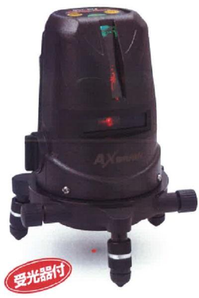 アックスブレーン PLV-250 レーザーワーカー 赤ライン 受光器付 墨出し器 盗難・火災保険付 防塵 防水