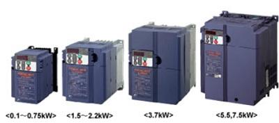 富士電機 高性能・コンパクト形インバータ FRN0.1E2S-2J  0.1kW 3相200V マルチ FRENIC-Multi(FRN0.1E1S-2J 後継品)
