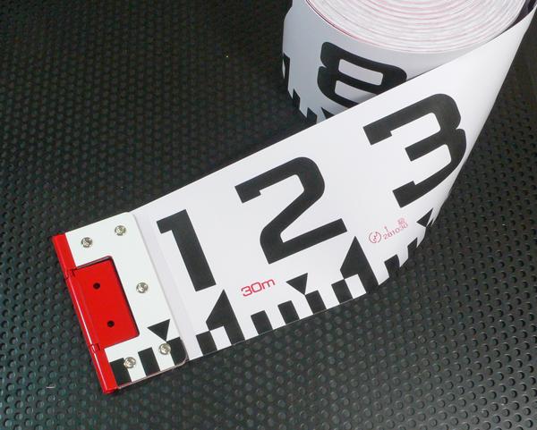 【ヤマヨ測定機】120mm巾×20m 『リボンロッド』 120E-2 R12B20