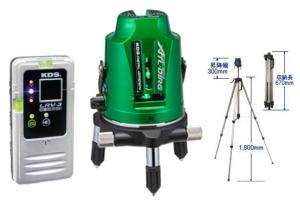 【ムラテックKDS】スーパーレイ ATL-D1RG RSA オートライングリーンレーザー 本体+受光器+三脚セット 高輝度 磁気制動方式