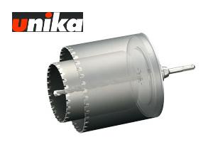 【ユニカ/unika】多機能コアドリル 換気扇用(セット) ALC用 UR-KA1116SD 110+160mmφ SDS-plus軸