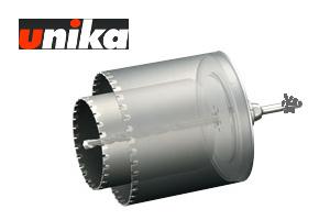 【ユニカ/unika】多機能コアドリル 換気扇用(セット) ALC用 UR-KA1116ST 110+160mmφ ストレート軸