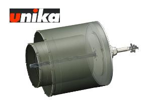 【ユニカ/unika】多機能コアドリル 換気扇用(セット) 複合材用 UR-KF1116ST 110+160mmφ ストレート軸