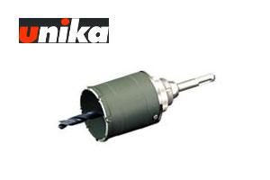 【ユニカ/unika】多機能コアドリルFS複合材用ショート(セット)UR-FS120SD 120mmφ SDS-plus軸