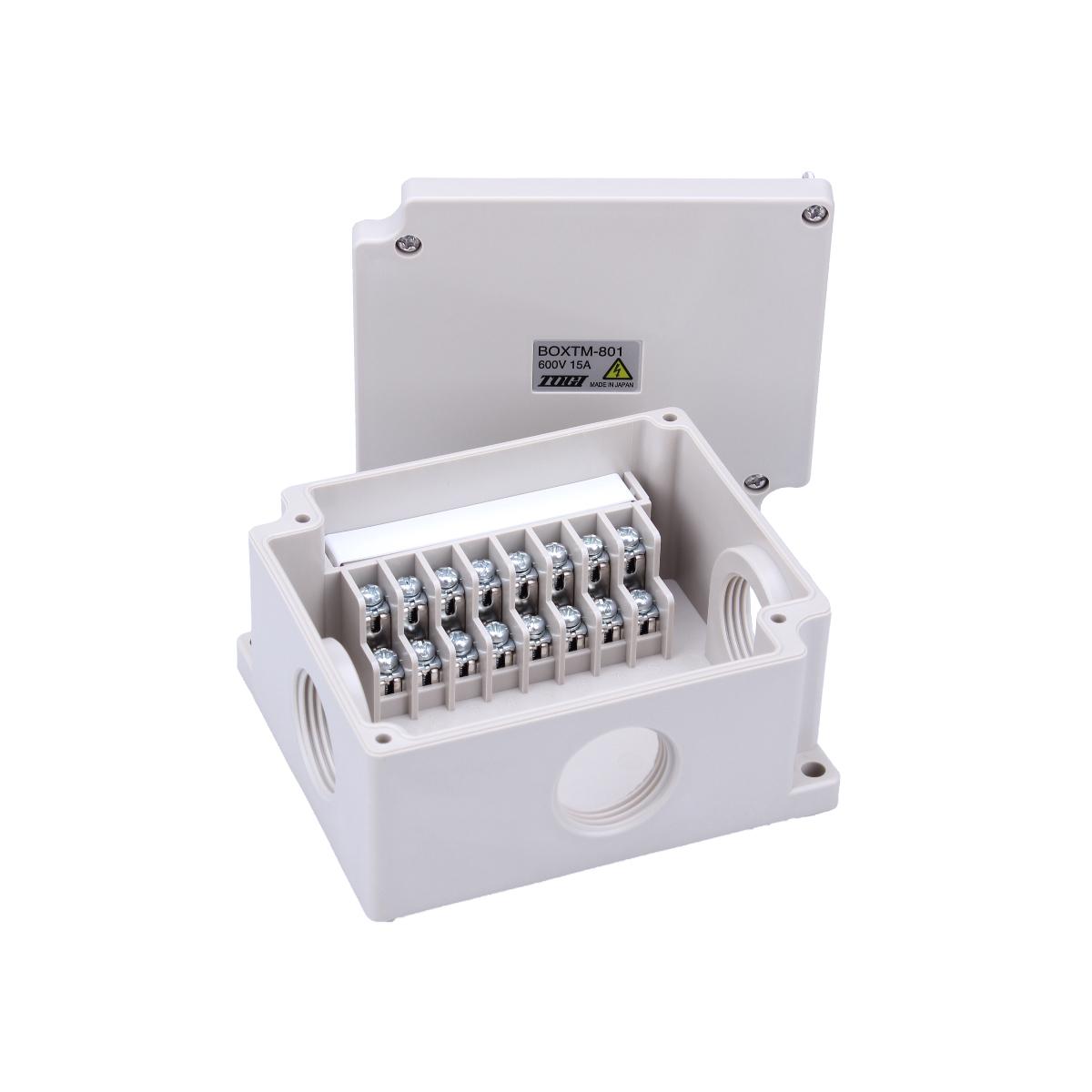 東洋技研製中継ボックス / 端子台付き BOXTM801 5個 送料無料
