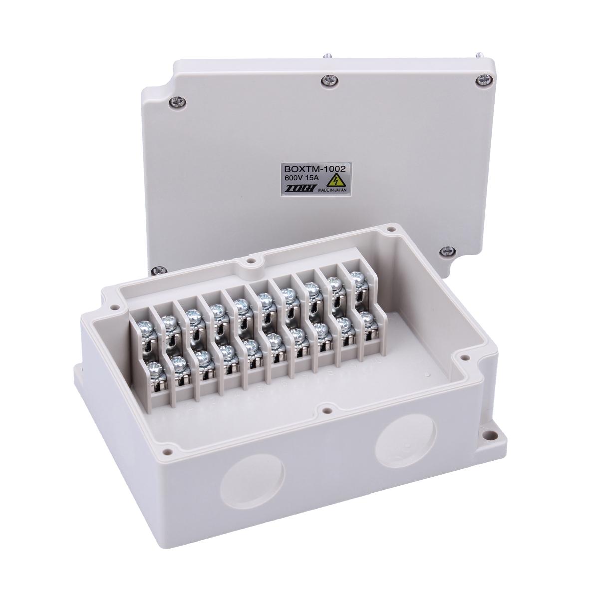東洋技研製中継ボックス / 端子台付き BOXTM1002 5個 送料無料