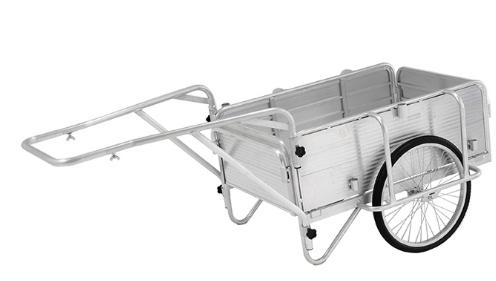 *法人様・個人事業主様限定商品アルインコ(ALINCO) アルミ製 折りたたみ式リヤカーHKW-180 [メーカー直送]