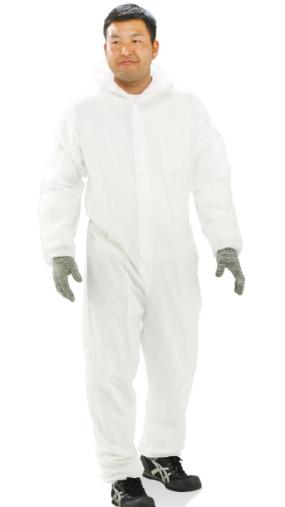 ▽NBC 不織布 防護服プロツール PT2 (50着入)
