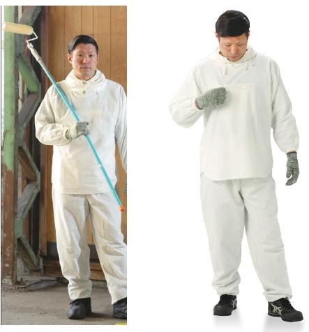 ▽NBC 綿100% 塗装服 HK-506 (30着入)サイズ O